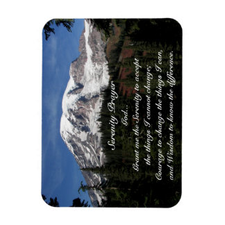 rezo el Monte Rainier de la serenidad 3 x 4 Imán