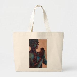 Rezo indio bolsa tela grande