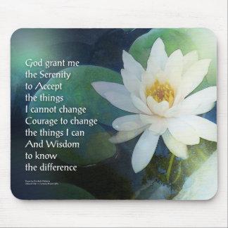 Rezo Lotus uno de la serenidad Alfombrilla De Ratón