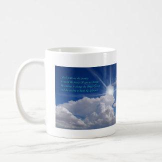 rezo mug1 de la serenidad, taza de café