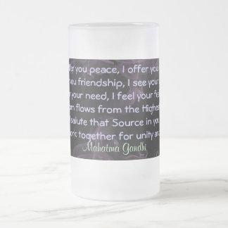 rezo para la taza de la paz