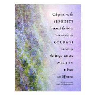 Rezo Rosemary de la serenidad Postales