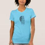 Rezo y pluma de Lakota Camiseta