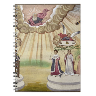 Rezos a dioses para la liberación de Grecia, Spiral Notebooks