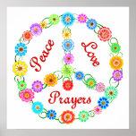 Rezos del amor de la paz poster