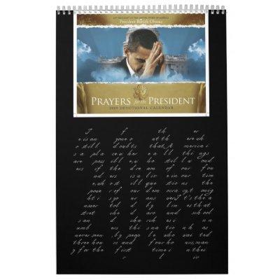 Rezos para el presidente Calendar Calendario De Pared