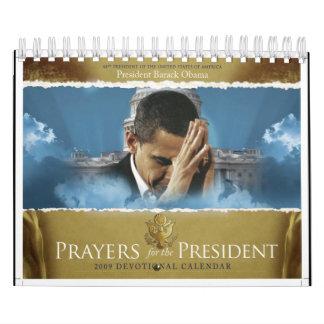 Rezos para el presidente calendarios