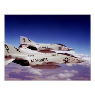 RF-4C Phantom II Poster