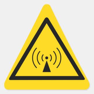 rf Warning Sticker