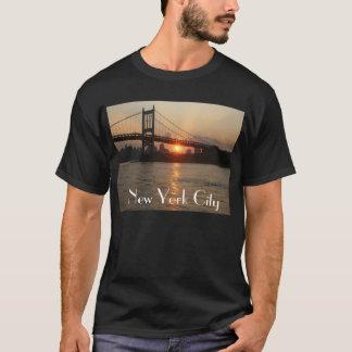 """""""RFK Bridge at Sunset"""" New York City Tee"""