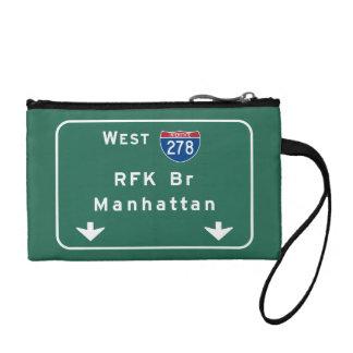 RFK Bridge I-278 Interstate NYC New York City NY Change Purse
