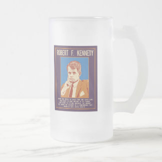 RFK - Future Frosted Glass Beer Mug