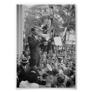 RFK Speaking At CORE Rally Poster