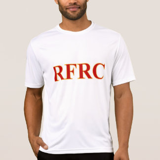 RFRC Men's Tech, White T-Shirt