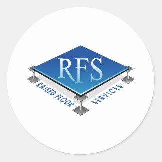 RFS CLASSIC ROUND STICKER