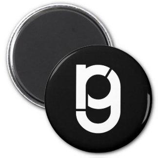 RG logo maganet 2 Inch Round Magnet