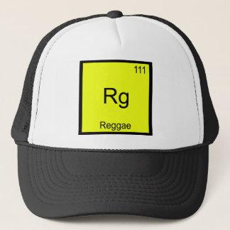 Rg - Reggae Funny Chemistry Element Symbol Tee Trucker Hat