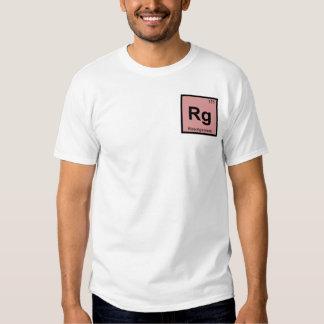 Rg - Roentgenium Chemistry Periodic Table Symbol Tshirt