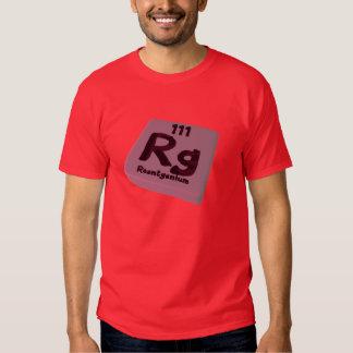 Rg Roentgenium Shirts
