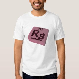 Rg Roentgenium T Shirts