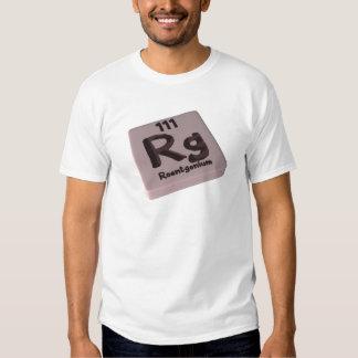 Rg Roentgenium Tee Shirt