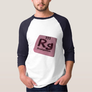Rg Roentgenium Tee Shirts