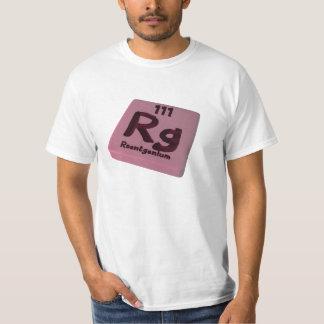 Rg Roentgenium Tees