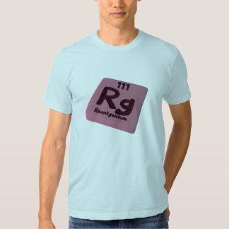 Rg Roentgenium Tshirts