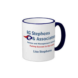 RG Stephens y socios, Busine… Taza De Dos Colores