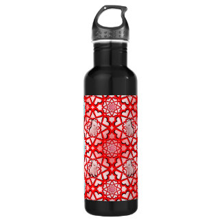 RGB Bunny Hearts Big Explosion Stainless Steel Water Bottle