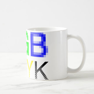 RGB CMYK COFFEE MUG