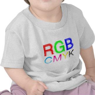 RGB CMYK CAMISETA
