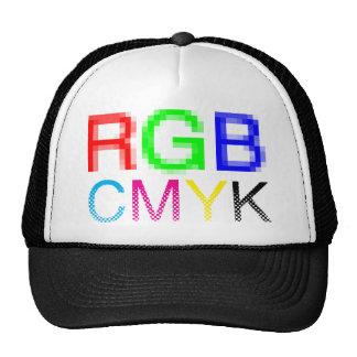 RGB CMYK TRUCKER HAT