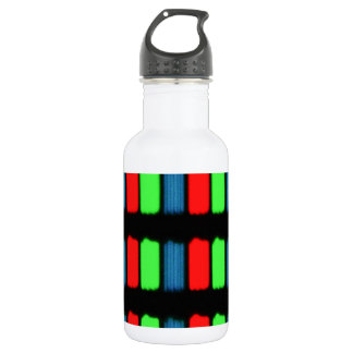 RGB LCD display micrograph Stainless Steel Water Bottle