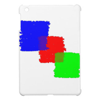 RGB Paintbrush iPad Mini Case