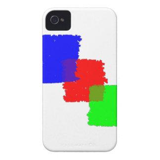 RGB Paintbrush iPhone 4 Case