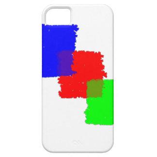 RGB Paintbrush iPhone SE/5/5s Case