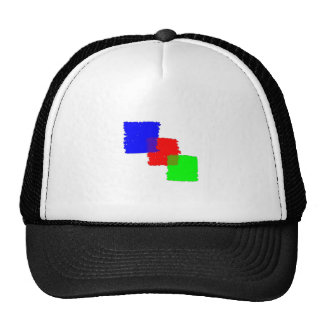 RGB Paintbrush Trucker Hat