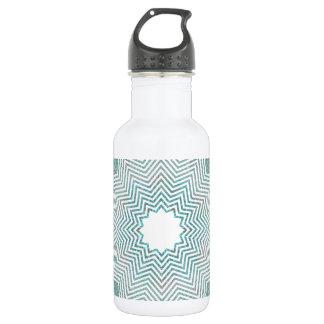 RGB Pattern Flake 18oz Water Bottle