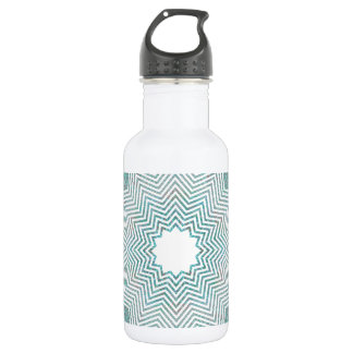 RGB Pattern Flake Water Bottle