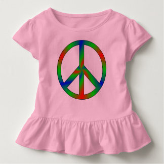 RGB Peace Sign Kids' Clothing Toddler T-shirt
