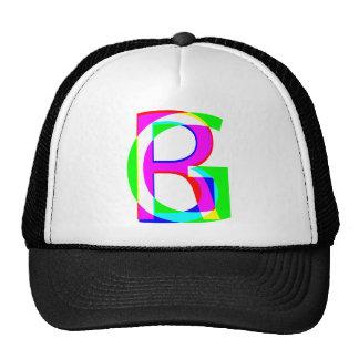 RGB pile Trucker Hat