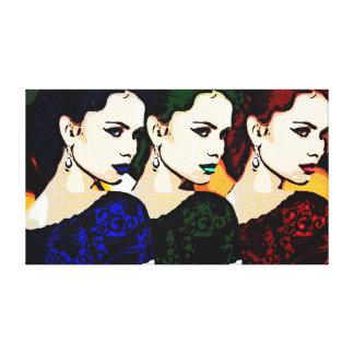 RGB Pixies Canvas Print