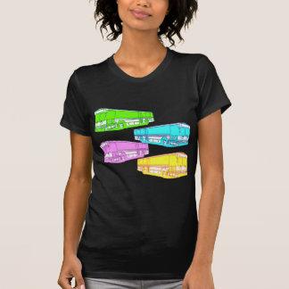 RGB Pop Buses T-shirt