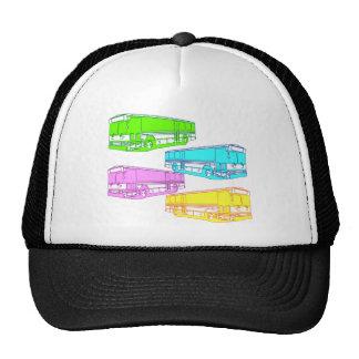 RGB Pop Buses Trucker Hat
