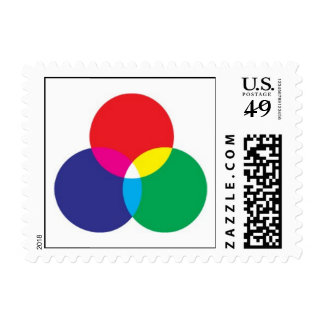 RGB POSTAGE STAMPS