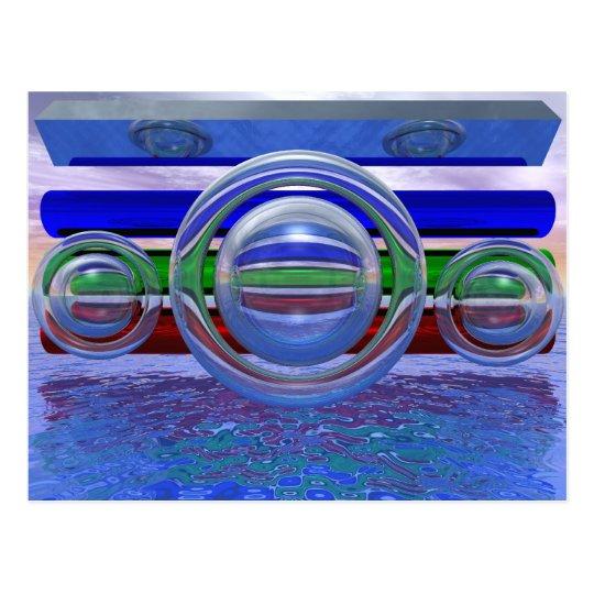 RGB-Reflection 3 Postcard
