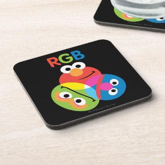 RGB Sesame Street Coaster