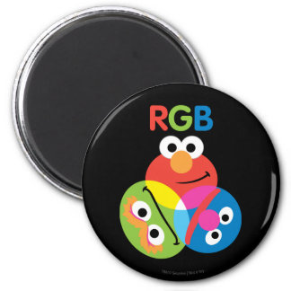 RGB Sesame Street Fridge Magnets