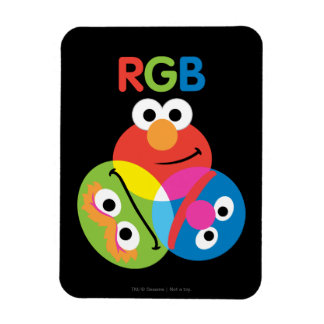 RGB Sesame Street Magnets